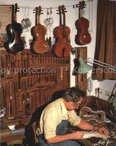 Geige Geigenbauer Mittenwald Oberbayern  Kat. Musik