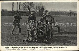 Militaria Wehrmacht Flakgeschuetze zur Sicherung von Flak Batterien gegen Tieffliegerangriffe Kat. WK2