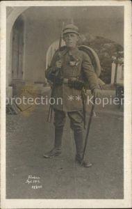 Militaria WK1 Bayern Fischen Soldat portrait