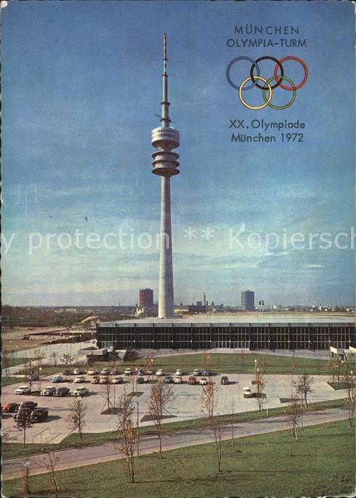 Olympia Olympia Turm Muenchen XX. Olympiade  Kat. Sport