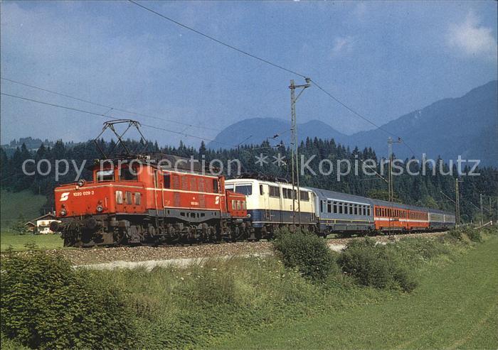 Eisenbahn Elektro Lokomotiven 1020.029 3 + 111 213 Klais oesterreich Kat. Eisenbahn