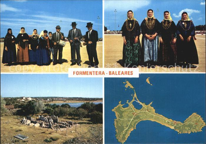 Trachten Spanien Formentera