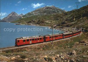 Eisenbahn RhB Bernina Express Lago Bianco ABe 4 4 Nr. 44 Kat. Eisenbahn