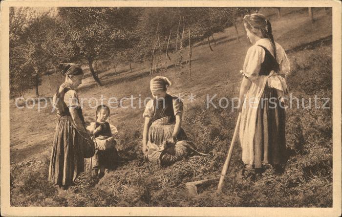 Landwirtschaft Kinder Ernte Kat. Landwirtschaft
