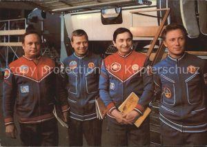 Raumfahrt Kosmosflug Fliegerkosmonauten Sigmund Jaehn Waleri Bykowski Kat. Flug