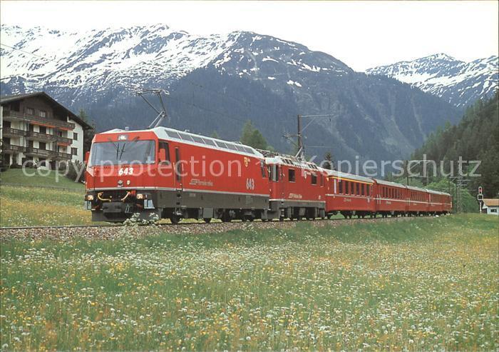 Eisenbahn Elektro Lokomotiven Ge 4 4 Nr. 643 Vals Ge 4 4 Nr. 627 Kat. Eisenbahn