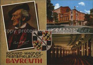 Wagner Richard Komponist Bayreuth  Kat. Musik