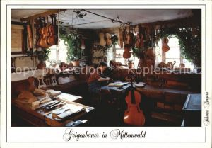 Geige Geigenbauer Mittenwald  Kat. Musik