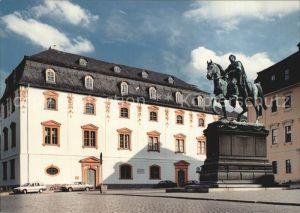 Denkmal Reiterstandbild Grossherzog Carl August von Sachsen Weimar Eisenach Kat. Denkmaeler