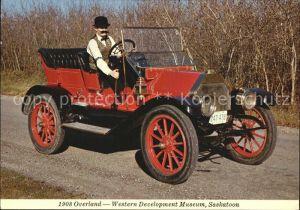 Autos 1908 Overland Western Development Museum Saskatoon Kat. Autos