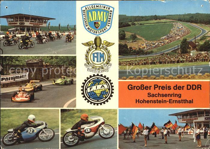 Motorsport Sachsenring Hohenstein Ernstthal  Kat. Sport