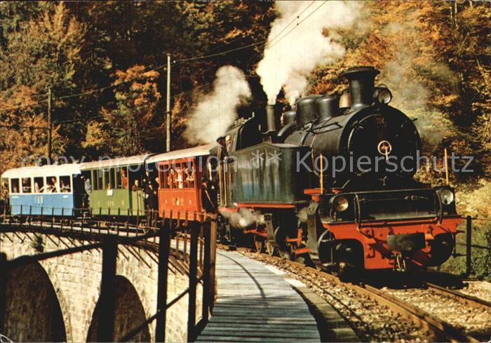 Lokomotive 104 Type Mallet Bionay Chamby Zell Todtnau Kat. Eisenbahn