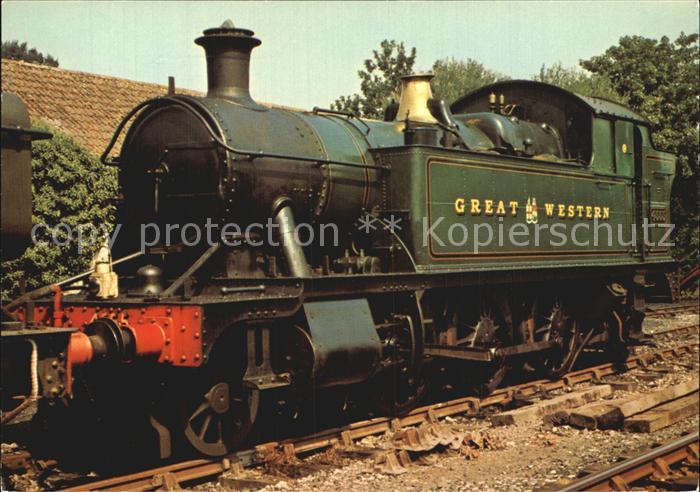 Lokomotive Great Western 2 6 2T No. 4555 Staverton Bridge  Kat. Eisenbahn