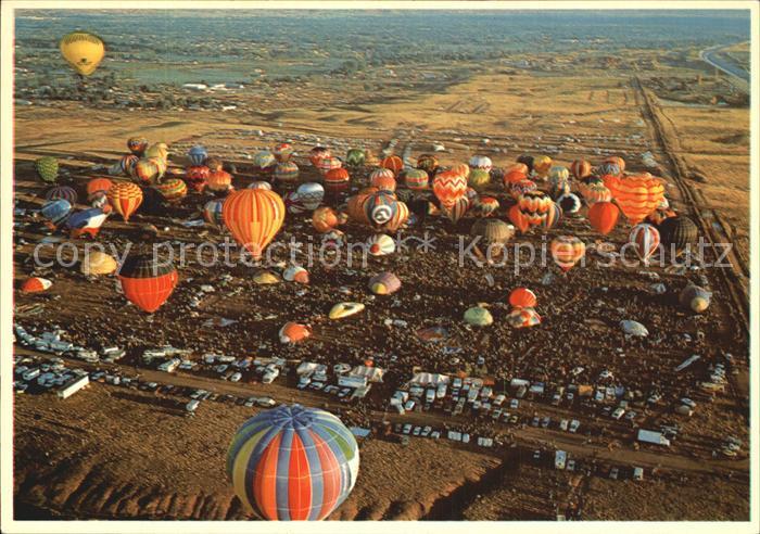 Heissluftballon Albuquerque New Mexico  Kat. Flug