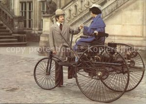 Dreiraeder Benz Dreirad Baujahr 1885 Verkehrsmuseum Dresden Kat. Dreiraeder