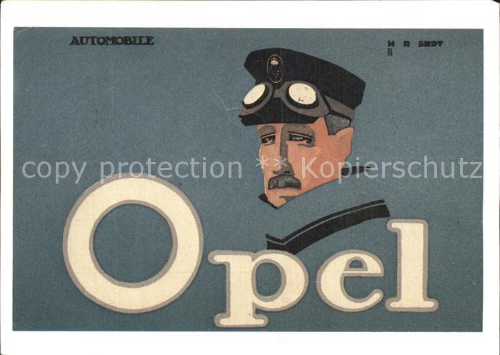 Werbung Reklame Opel Kat. Werbung