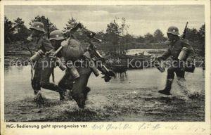 Militaria Wehrmacht Maschinengewehr Bataillon Gasmaske Stahlhelm  Kat. WK2