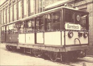 U Bahn Subway Underground Metro U Bahn Wagen Nr. 11 Baujahr 1911 Hamburg