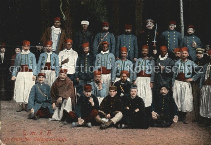 Militaria Kriegsgefangene Coloniale in deutscher Gefangenschaft WK1