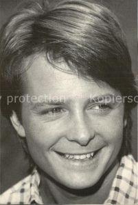Schauspieler Michael J. Fox  Kat. Kino und Film