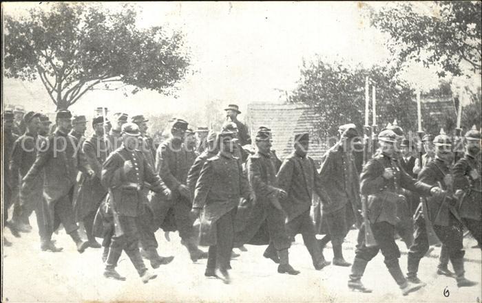 Militaria Kriegsgefangene Gefangene Franzosen in Koenigsbrueck Kaliningrad WK1
