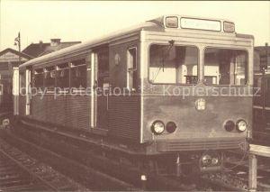 U Bahn Subway Underground Metro U Bahn Wagen Nr. 8706 Baujahr 1925