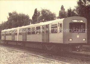 U Bahn Subway Underground Metro U Bahn Wagen Serie DT2 Baujahr 1966 Hamburg