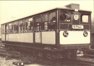 U Bahn Subway Underground Metro U Bahn Wagen Nr. 220 Baujahr 1920 Hamburg