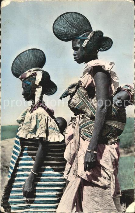 Typen Afrika Guinee Jeunes Femmes du Foutadjalon