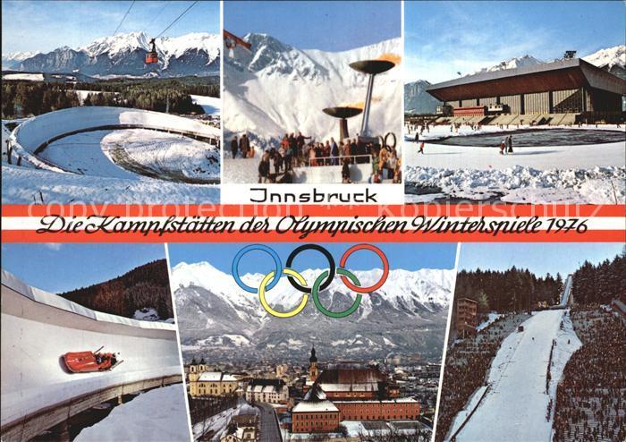 Olympia Kampfstaetten Olympische Winterspiele Innsbruck  Kat. Sport