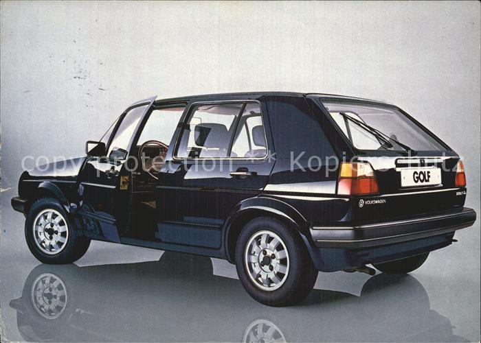 Autos Golf Volkswagen Kat. Autos