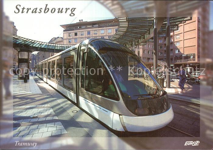 Strassenbahn Strasbourg Tramway Kat. Strassenbahn