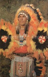 Indianer Native American Indian Chief  Kat. Regionales