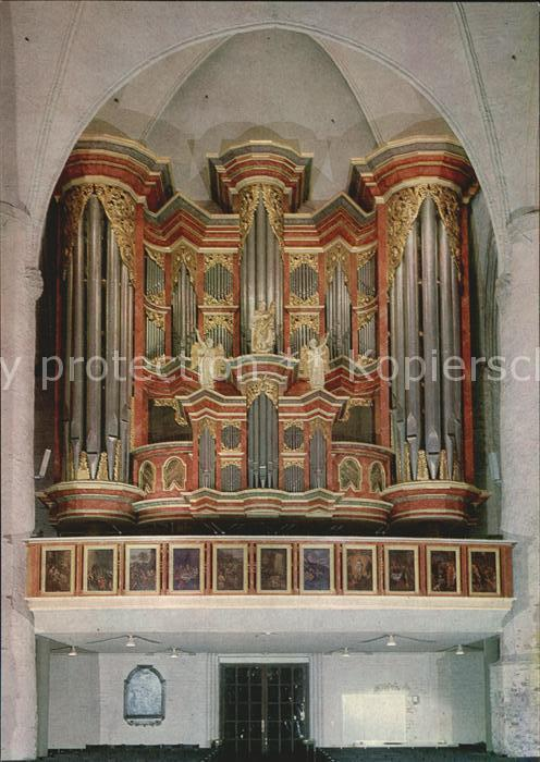 Kirchenorgel Kirche St. Jacobi Hamburg  Kat. Musik