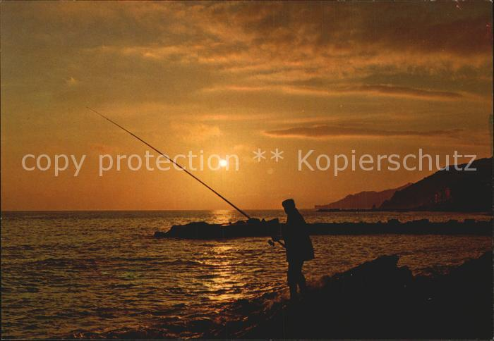 Angelsport Angler Sonnenuntergang Kat. Sport