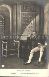 Napoleon Bonaparte Napoleon Intime L Empereur attend son fils Scene III. Kat. Persoenlichkeiten