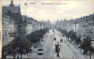 Strassenbahn Anvers Avenue de Keyser  Kat. Strassenbahn