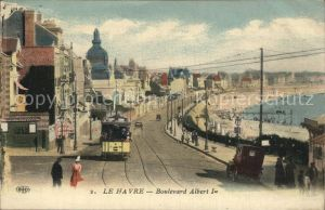 Strassenbahn Le Havre Boulevard Albert I. Kat. Strassenbahn
