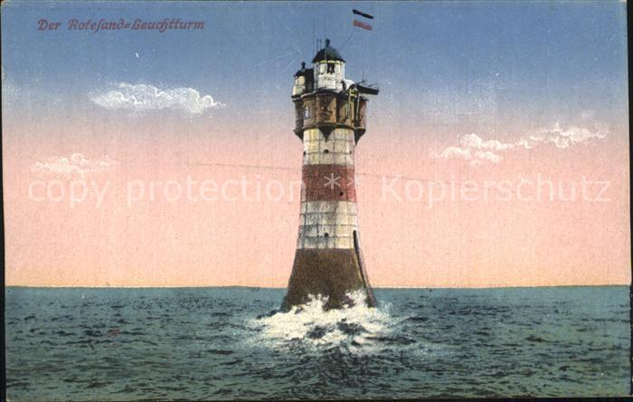Leuchtturm Lighthouse Roteland Leuchtturm Kat. Gebaeude