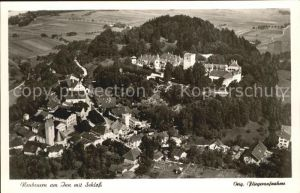 Neubeuern Inn Kirche Schloss Luftaufnahme Kat. Neubeuern Inn
