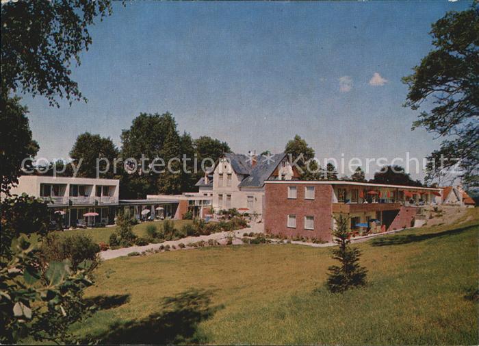 Malente Gremsmuehlen Kurheim Landhaus am Holzberg Kat. Malente