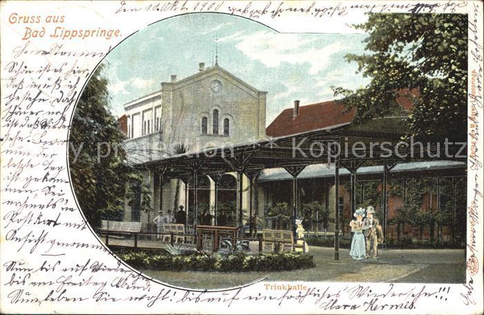 Bad Lippspringe Trinkhalle Kat. Bad Lippspringe