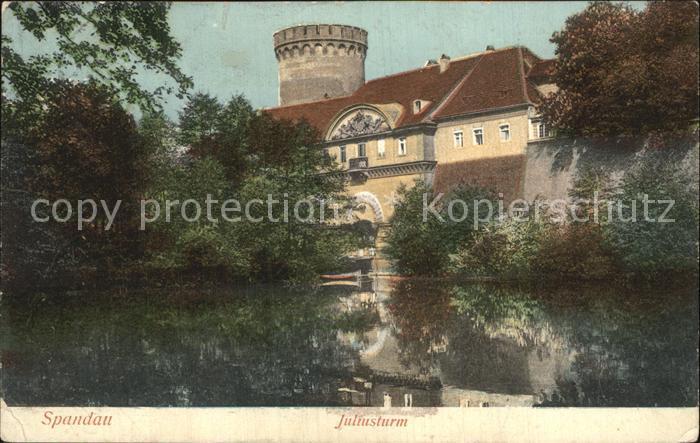 Spandau Juliusturm Kat. Berlin