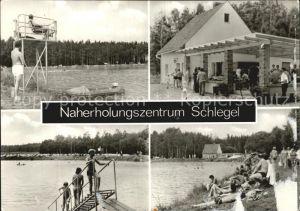 Schlegel Zittau Badesee Imbiss  Kat. Hirschfelde Zittau