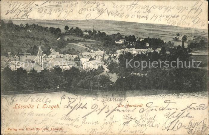 Loessnitz Erzgebirge Vorstadt Kat. Loessnitz