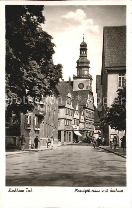 Kirchheim Teck Max Eyth Haus Rathaus Kat. Kirchheim unter Teck