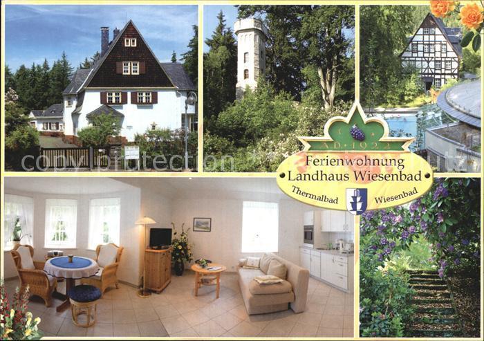 Wiesenbad Ferienwohnung Landhaus Wiesenbad Kat. Thermalbad Wiesenbad