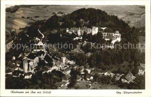 Neubeuern Inn Schloss Luftaufnahme Kat. Neubeuern Inn