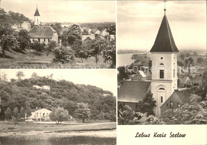 Lebus Kirche See Seelow Kat. Lebus