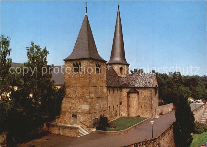 Fulda St Michaelskirche Rotunde Krypta aus dem Jahre 822 Barockstadt Kat. Fulda